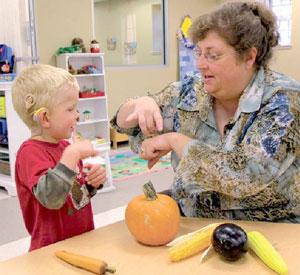 Воспитание и обучение детей с нарушениями слуха