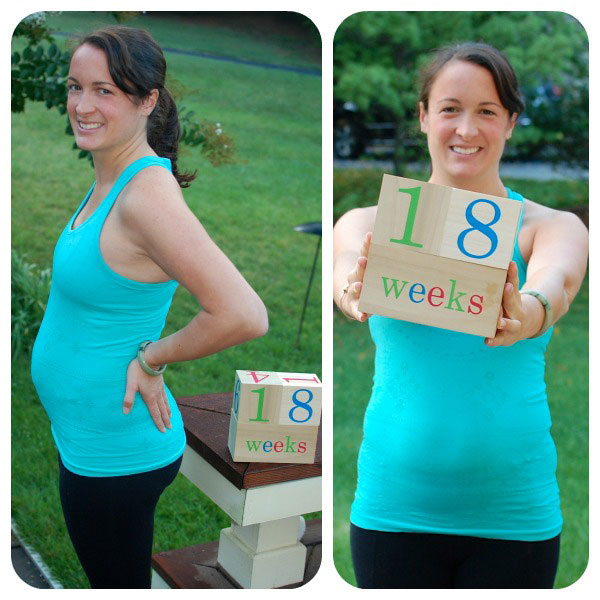 18 недель беременности беременной