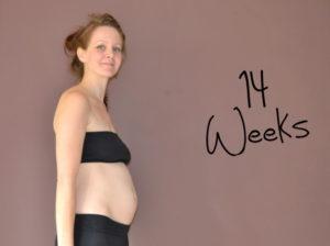 развитие малыша 14 недель