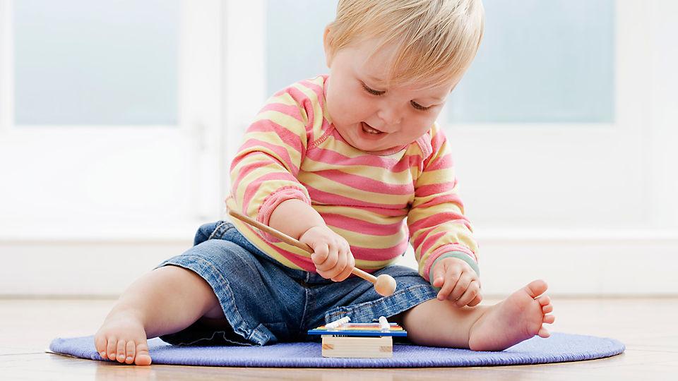 child development of infant toy essay