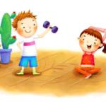 зарядка для детей