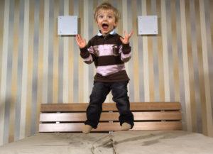 гиперактивный ребёнок