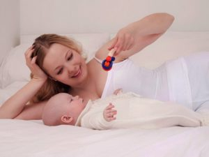 ребенок 7 недель развитие