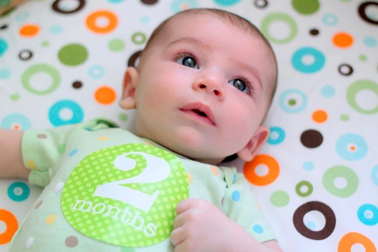 Ребенок второй месяц жизни