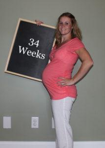 развитие ребенка на 34 неделе беременности