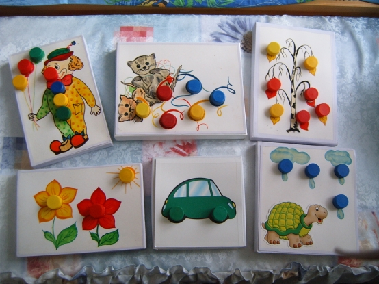 Игровое пособие для детей раннего возраста своими руками